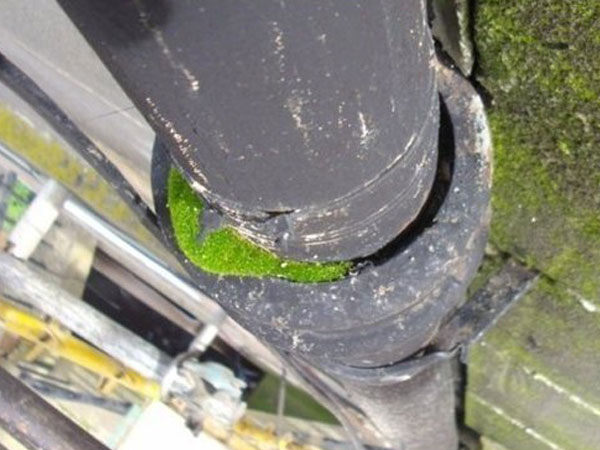 Faulty water pipes can cause penetrating damp