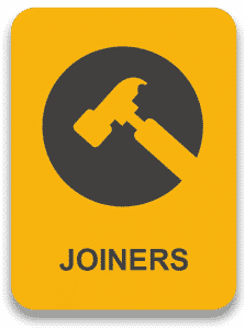 Looking for Joiners sign