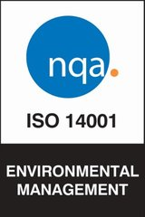 ISO 14001 Environmental Management certificate logo