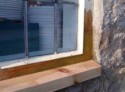 Timber Window Resin Repairs