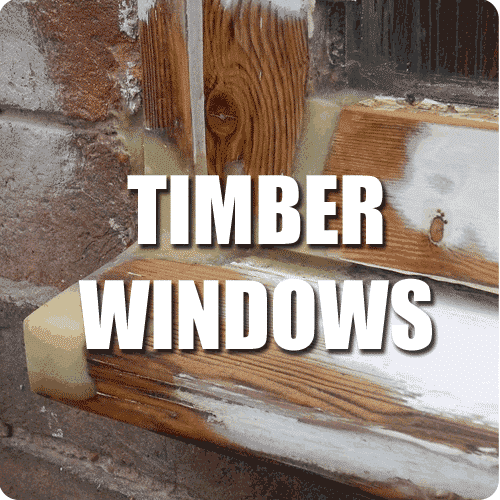 timber window repair service button