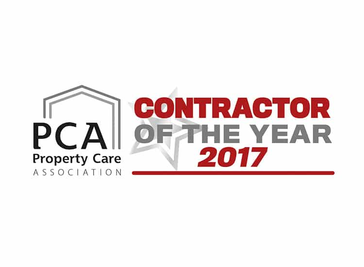 PCA Contractor of the year award 2017 logo