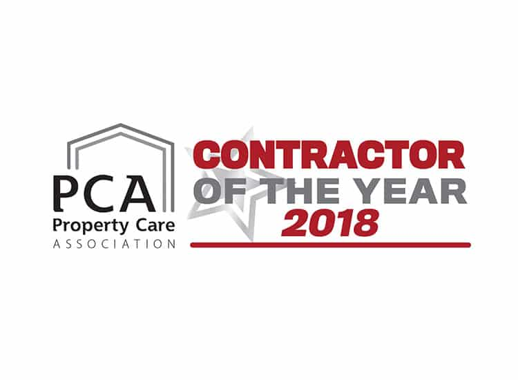 PCA Contractor of the year award 2018 logo