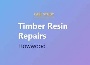 Timber Resin Repairs in Howwood