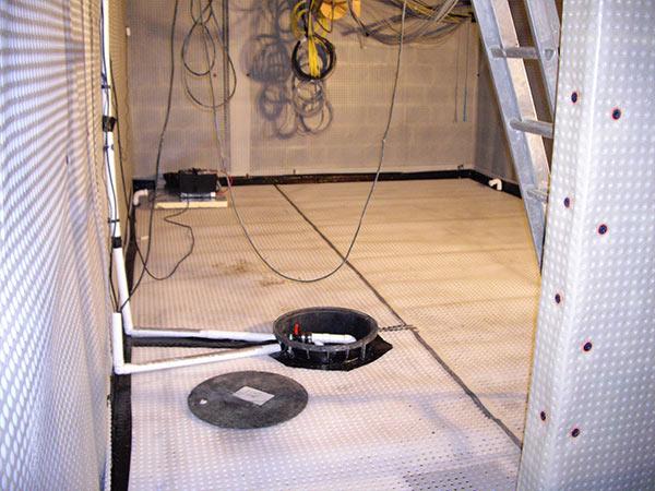 basement tanking system